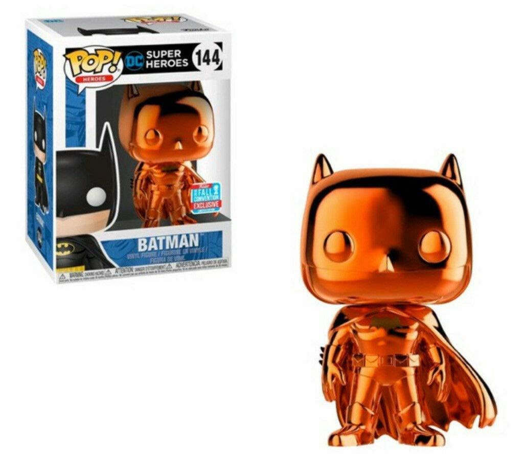 Pop Vinyl DC Heroes Orange Chrome Batman #144 2018 NYCC Comic Con Exclusive SG/_B07J1YR9LQ/_US