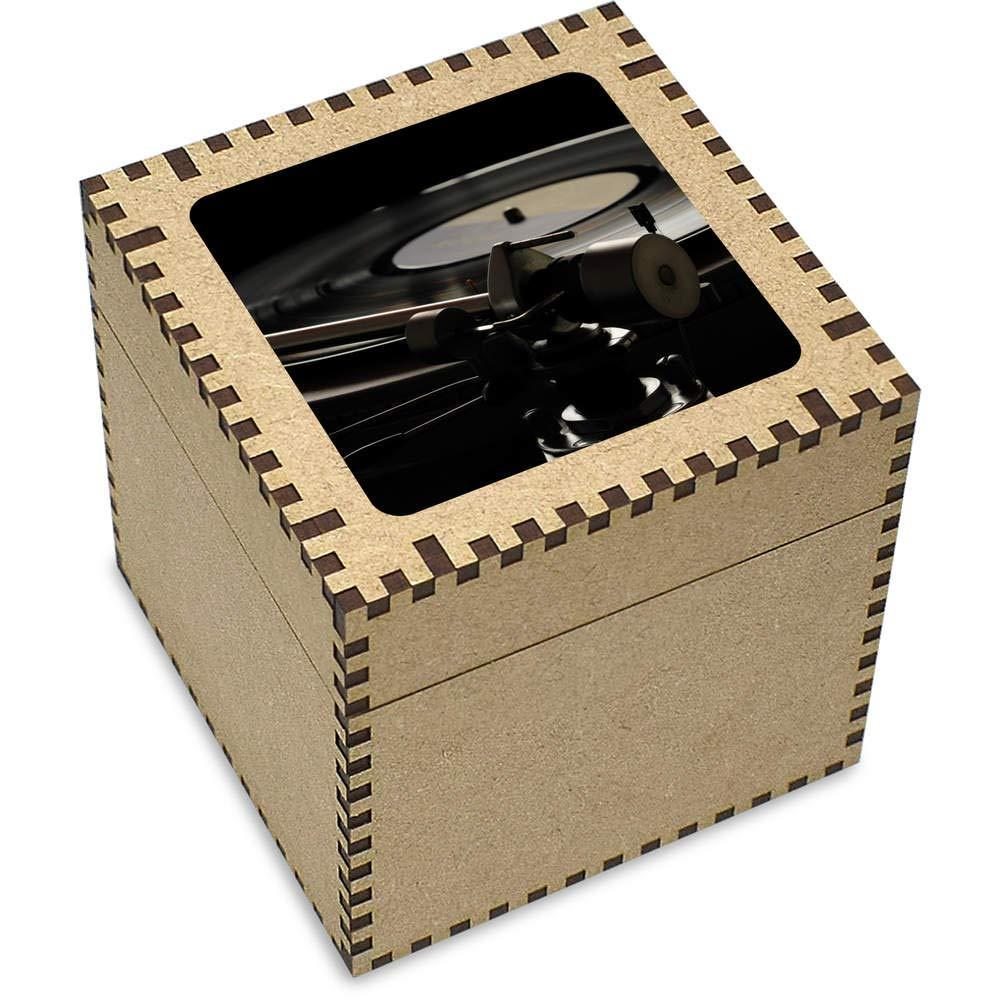 Stamp Press Grande Tocadiscos Joyería Caja (JB00002551): Amazon ...