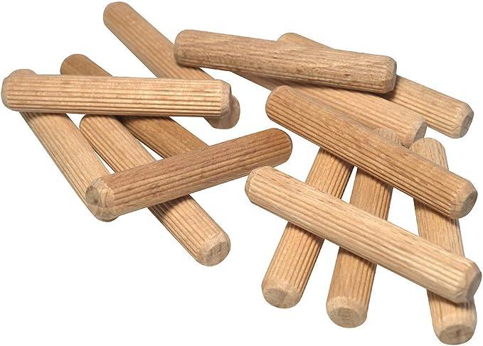 Cheville en bois goujon de r/écif multicolore
