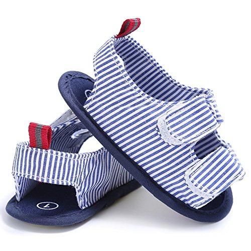 Domybest Baby First Walker Schuhe Antislip Sommer Sandalen Soft Sole Kleinkind Neugeborene Schuhe 01