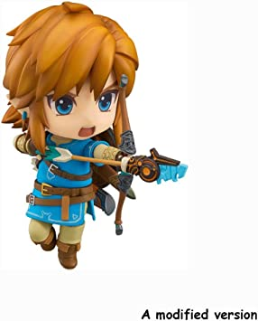 Xiaoping The Legend of Zelda: Breath of The Wild: Figura de acción de Enlace: Amazon.es: Juguetes y juegos