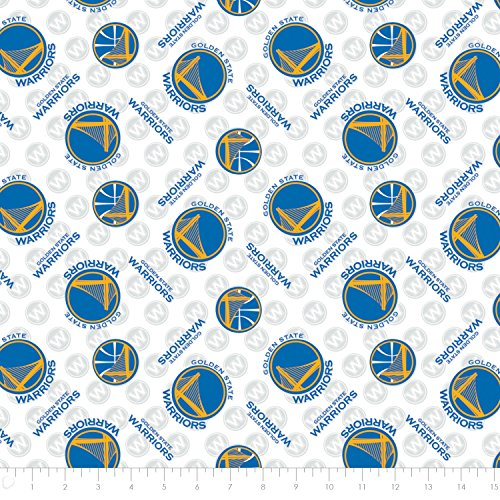 NBA Golden State Warriors Cotton Fabric by the - State Hut
