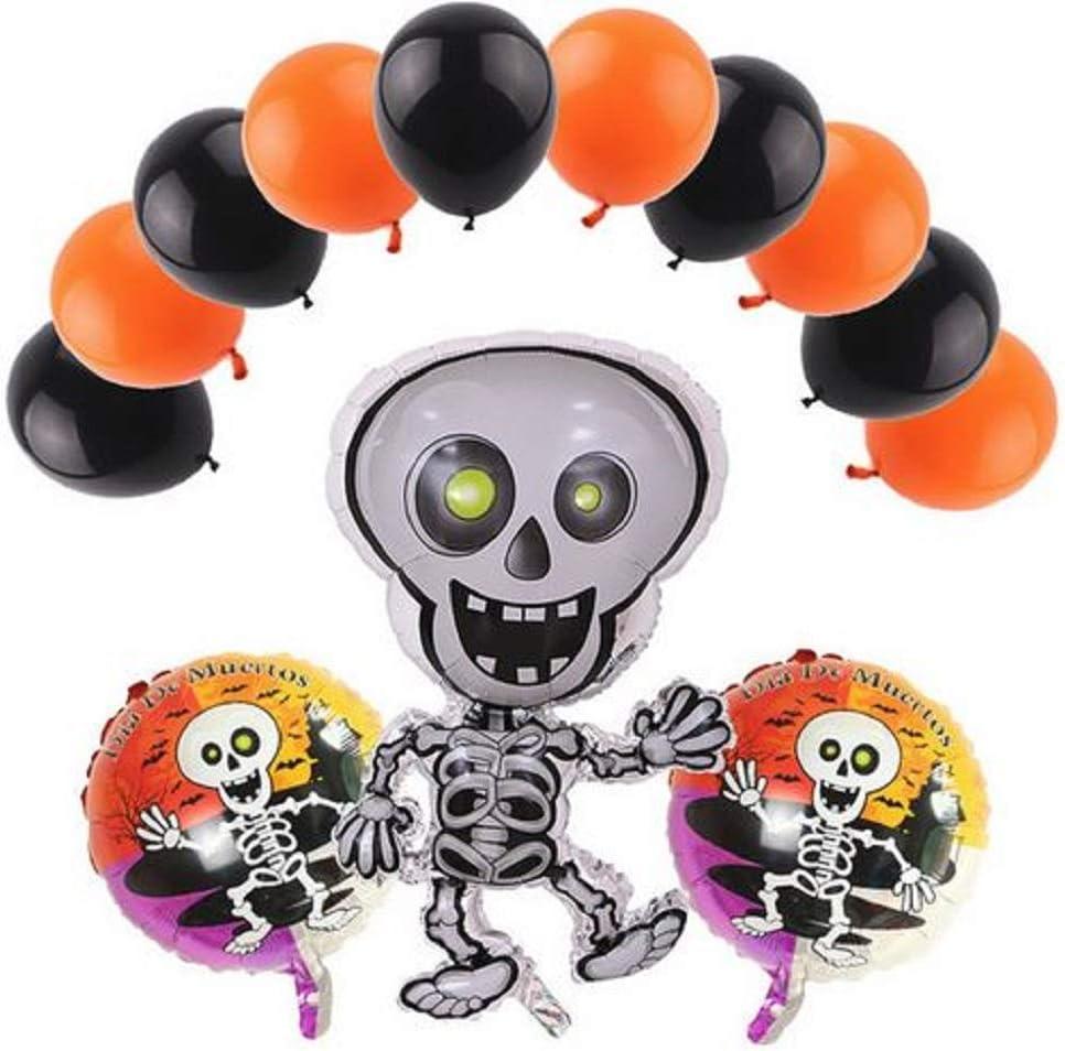 Dia de los Muertos - conjunto de globos de fiesta - Day of the Dead Balloons - Party Balloon Set Decorations - Happy Skeleton Theme by Jolly Jon ®