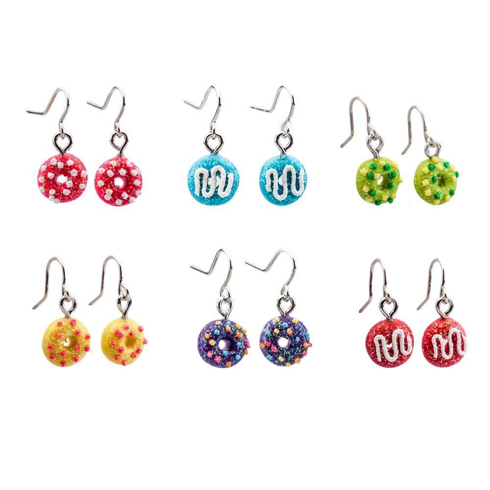 minihope Drop Earrings for Girls – Beautiful Earrings for Kids – Made of Polymer Clay – Children's Earrings Ltd ER-170837
