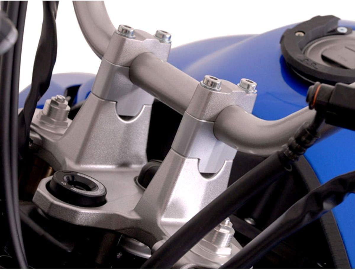 Lenkererh/öhung Yamaha XT1200Z Super T/én/ér/é H/öhe 30 mm 2010-2013 silbern