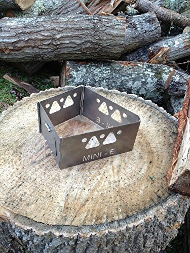 Mini-E Titanium Wood Stove by DutchWare Gear