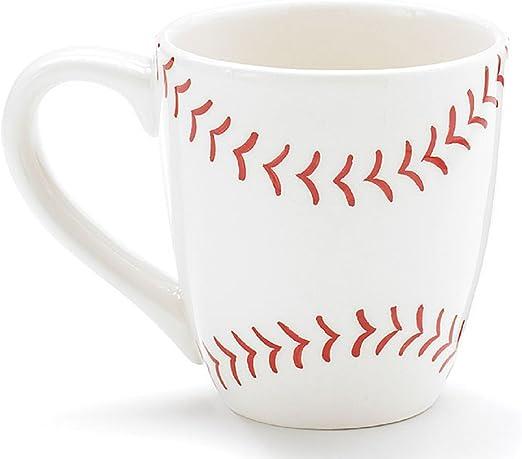 Set Of 4 Baseball Mugs 13oz Mugs Perfect For The Baseball Fan Softball Too Kitchen Dining