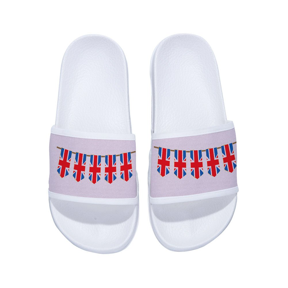 XINBONG Beach Sandals for Boys Girls Indoor Outdoor Swimming Pool Spa Shower Slippers Soft Sole