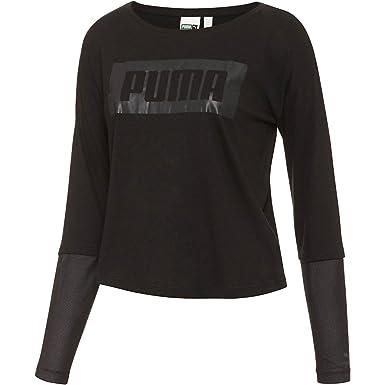 e7aab76d PUMA Women's Long Sleeve Top at Amazon Women's Clothing store: