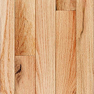 Millstead Red Oak Natural 3/4 in. Thick x 4 in. Width x Random Length Solid Real Hardwood Flooring (21 sq. ft. / case)