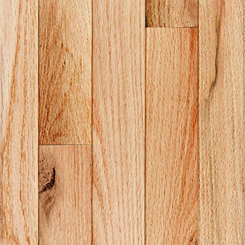 Millstead Red Oak Natural 3/4 in. Thick x 4 in. Width x Random Length Solid Real Hardwood Flooring (21 sq. ft. / (Real Wood Flooring)