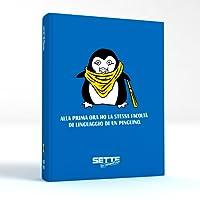 Sette In Condotta Diario Agenda Scolastico 2018 2019 con giochi e rubriche divertenti disponibile in 3 colori (Blu)
