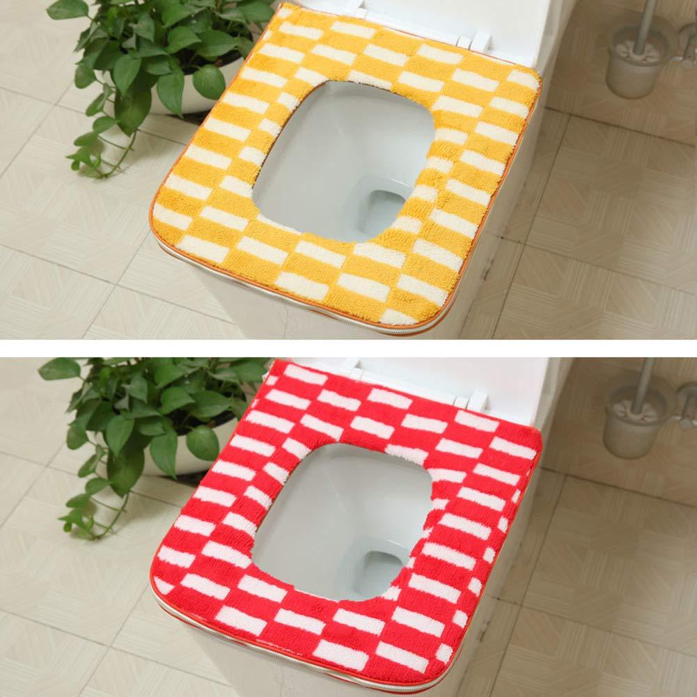 Groovy Amazon Com Lililili 1Set 2Pcs Toilet Cushion Thicken Squirreltailoven Fun Painted Chair Ideas Images Squirreltailovenorg