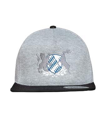 Bayer Caps - Gorra para Hombre, diseño de Escudo de Baviera Negro ...