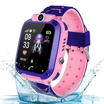 DQSW Pulsera inteligente- Teléfono Smartwatch para niños ...