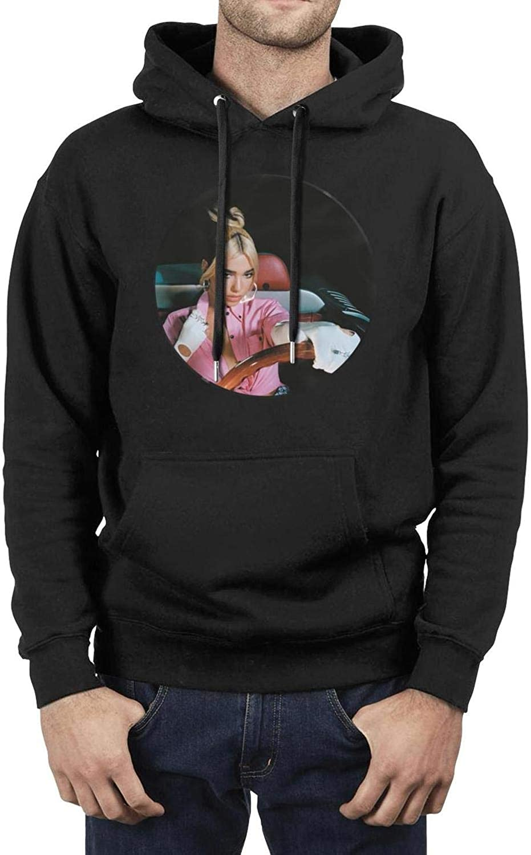 J.SKEY Black Men's Sweatshirt DUA-LIPA-Physical- Long Sleeve