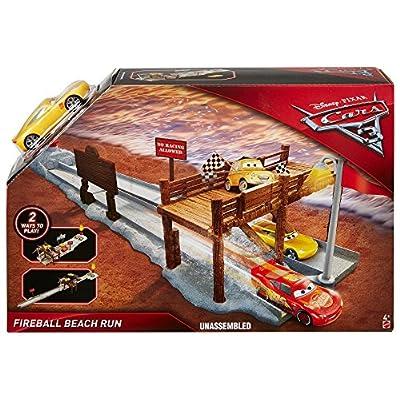Disney Pixar Cars 3: Fireball Beach Run Playset: Toys & Games