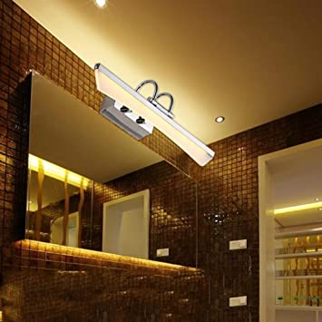 Amazon.com: HOMEE Bath mirror lamps- (lamp can be adjusted) led ...