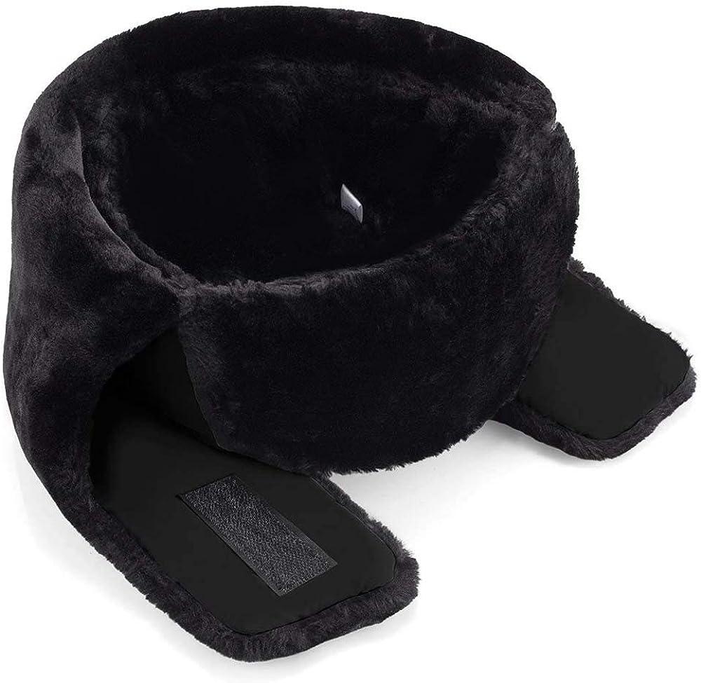 le ski ou dautres activit/és de plein air Noir Joywow Chapeau dhiver unisexe avec cache-oreilles et masque coupe-vent pour le patinage