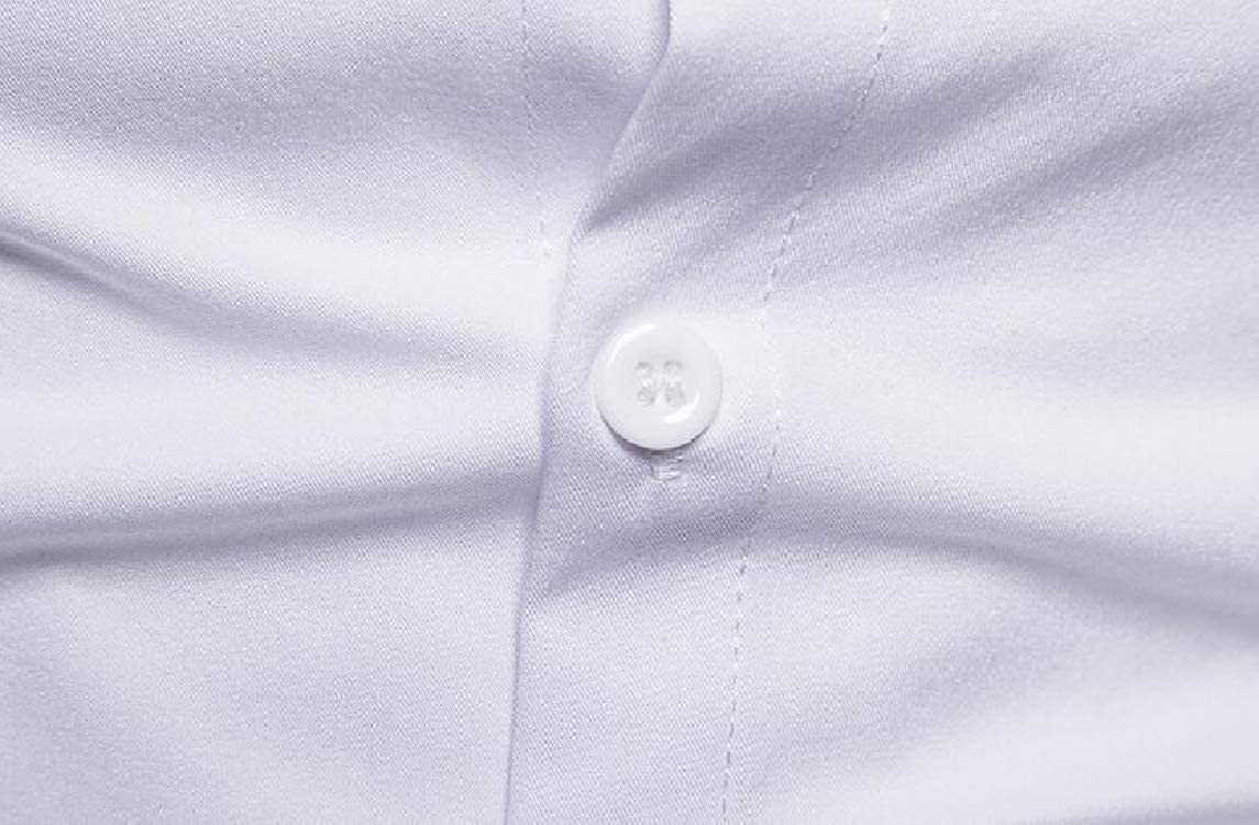 HTOOHTOOH Mens Embroidered Shirt Fashion Western Shirts Button Down Shirt
