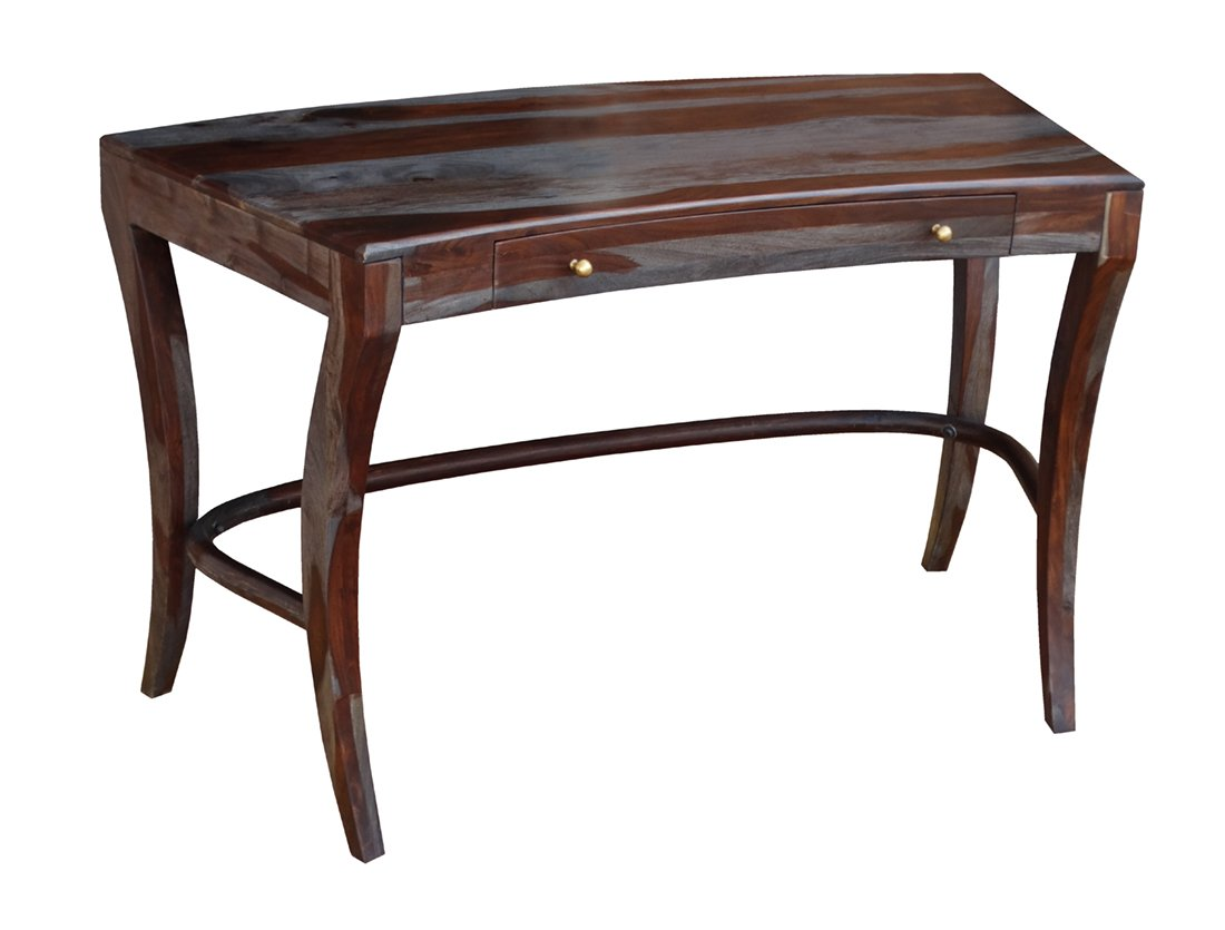 Coast To Coast Wood Console Tables Coast To Coast 15213 One Drawer Writing Desk 51 X 31 X 25 Inches Gray Model # 15213
