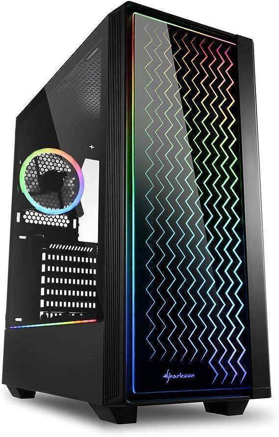 Sharkoon Rgb Lit 200 Pc Gehäuse Computer Zubehör