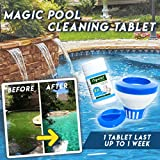 Magic Pool Cleaning Tablet & Floating Dispenser