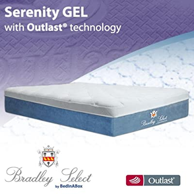BedInABox Serenity Gel Memory Foam Bed Mattress (Twin XL)