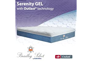 BedInABox Serenity Gel Memory Foam Bed Mattress