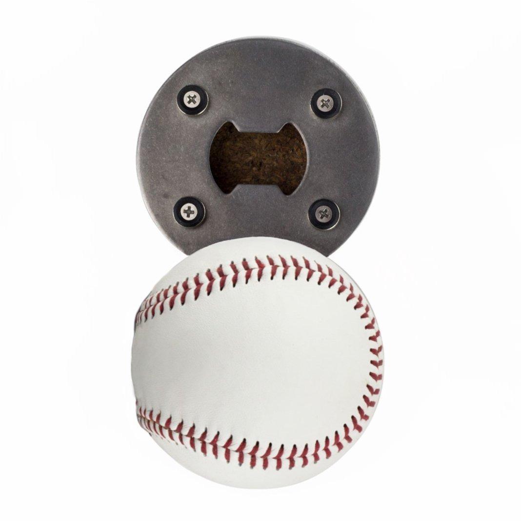 The baseball bottle opener