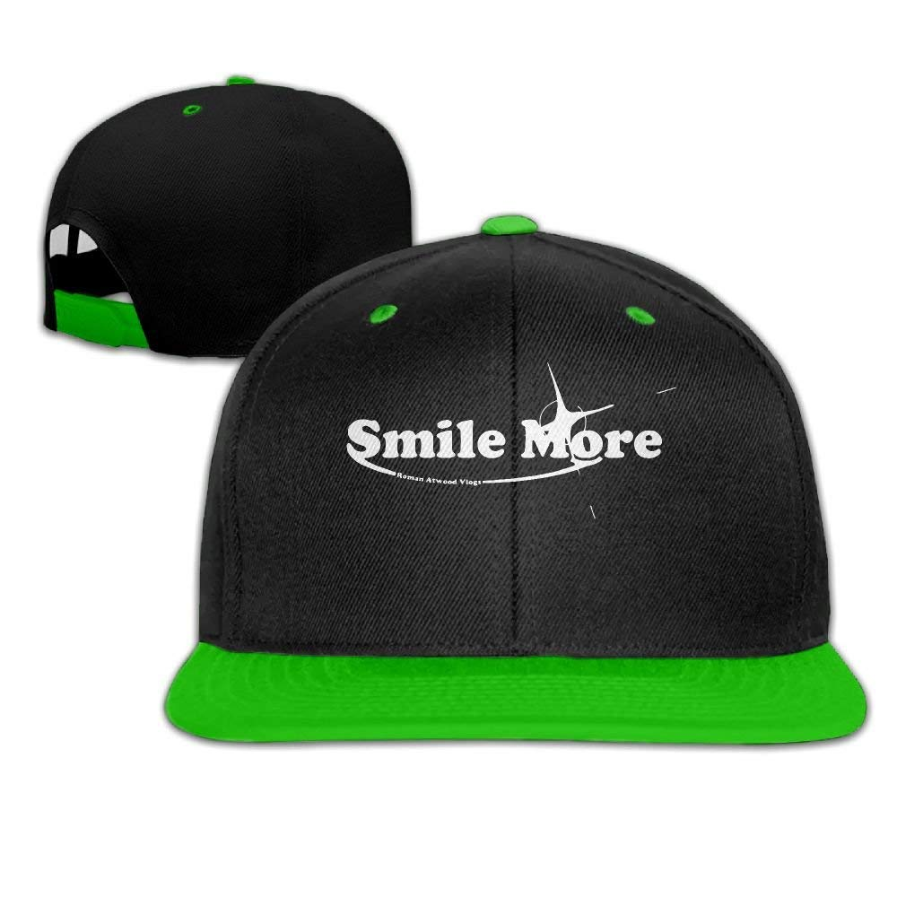 Jian Weimy Unisex Fashion Smile More 1-1 Hip Hop Baseball Caps Snapback Hats