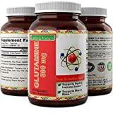 Best L Glutamine 500mg Capsules for Women and Men – Natural Amino Acid Supplement for Joint Pain – Dietary Pill to Improve Immune Health – Muscle Repair Supplement – by California Products