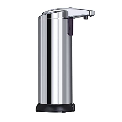 True Home Smart Automatic Soap Dispenser   Touchless Electric Stainless  Steel Liquid Hand Set Dispensers