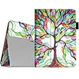 Fintie iPad mini 1/2/3 Case - Folio Slim Fit Stand Case with Smart Cover Auto Sleep / Wake Feature for Apple iPad mini 1 / iPad mini 2 / iPad mini 3, Love Tree