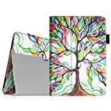 Fintie iPad mini 1/2/3 Case - Folio Slim Fit Stand Case with Smart Cover Auto Sleep/Wake Feature for Apple iPad mini 1 / iPad mini 2 / iPad mini 3, Love Tree