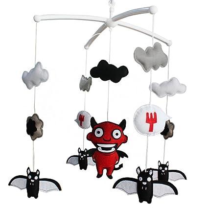 [Demonio y Murciélago] Juguetes colgantes creativos, caja musical de liquidación, campana de