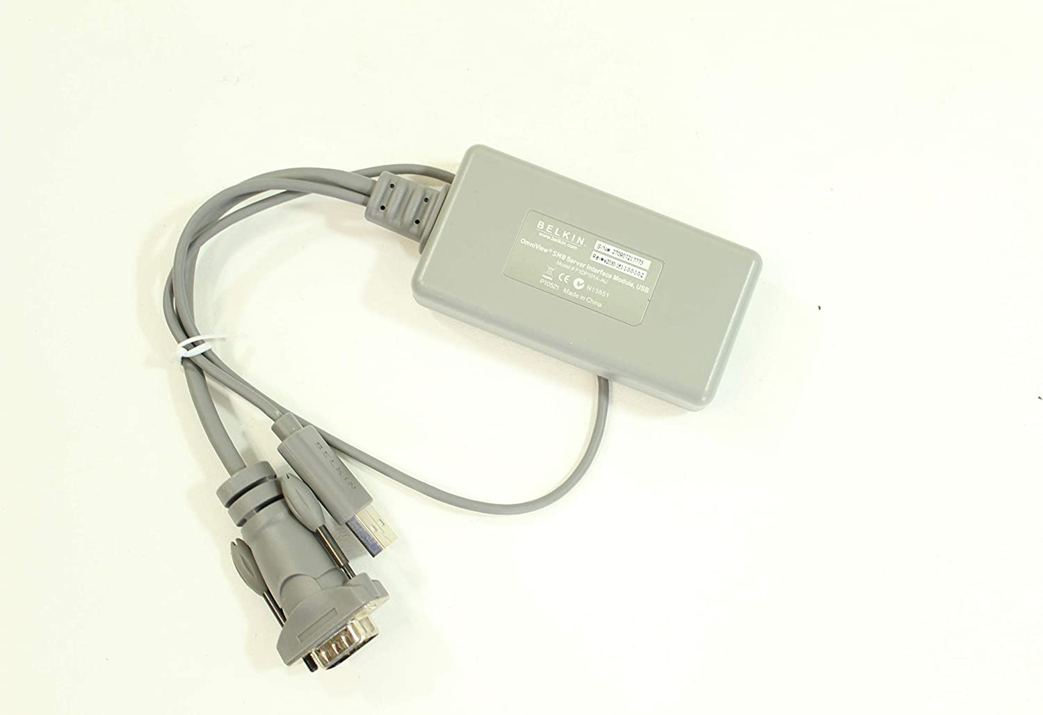 KVM Belkin F1DP101A-AU serial switch PS//2 audio