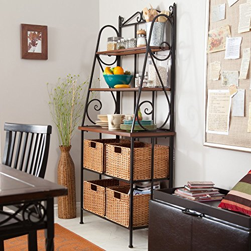 Belham Living Sutter Bakers Rack with Baskets by Alfred Zahn Ltd