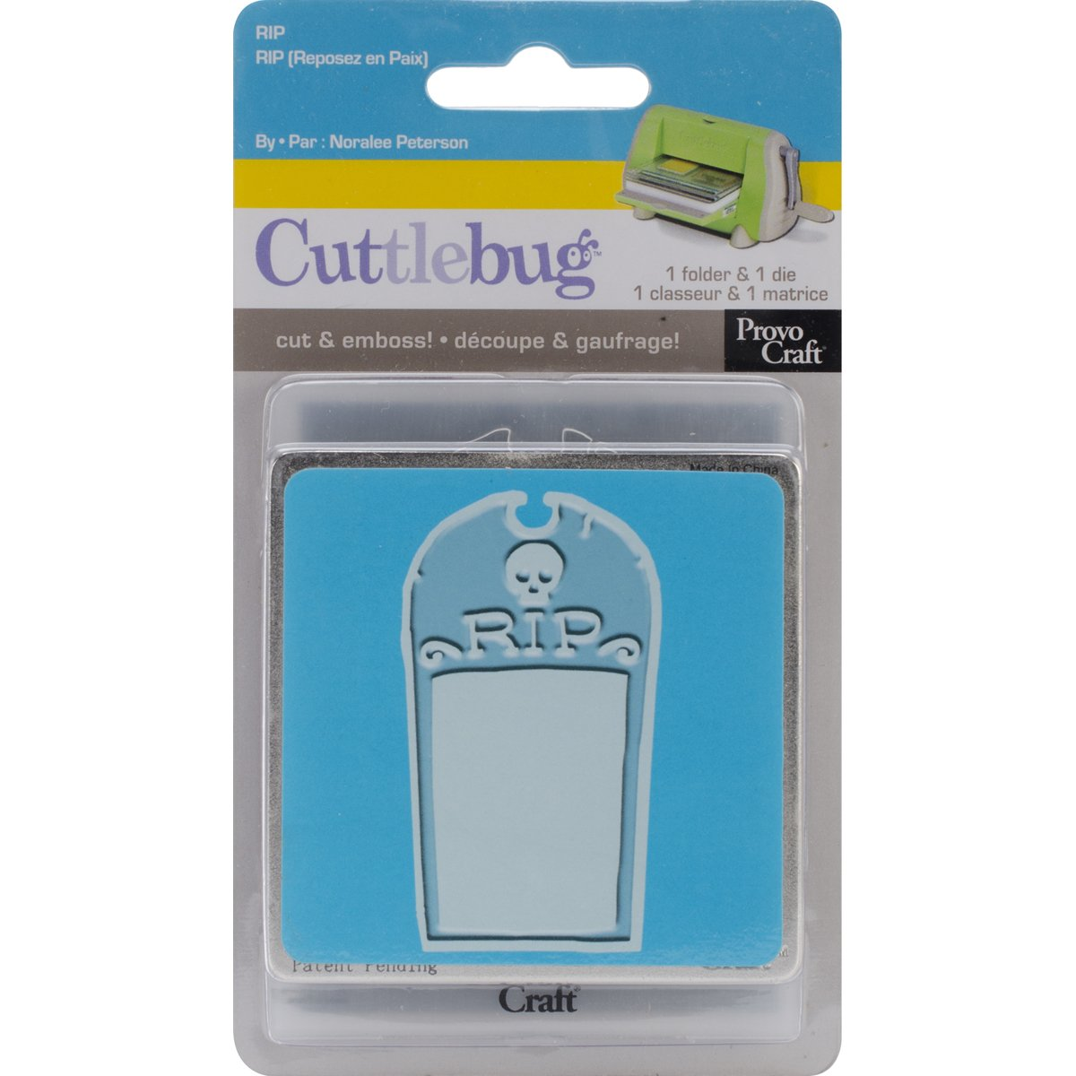 Cuttlebug 3-Inch-by-3-Inch Cut and Emboss Belle
