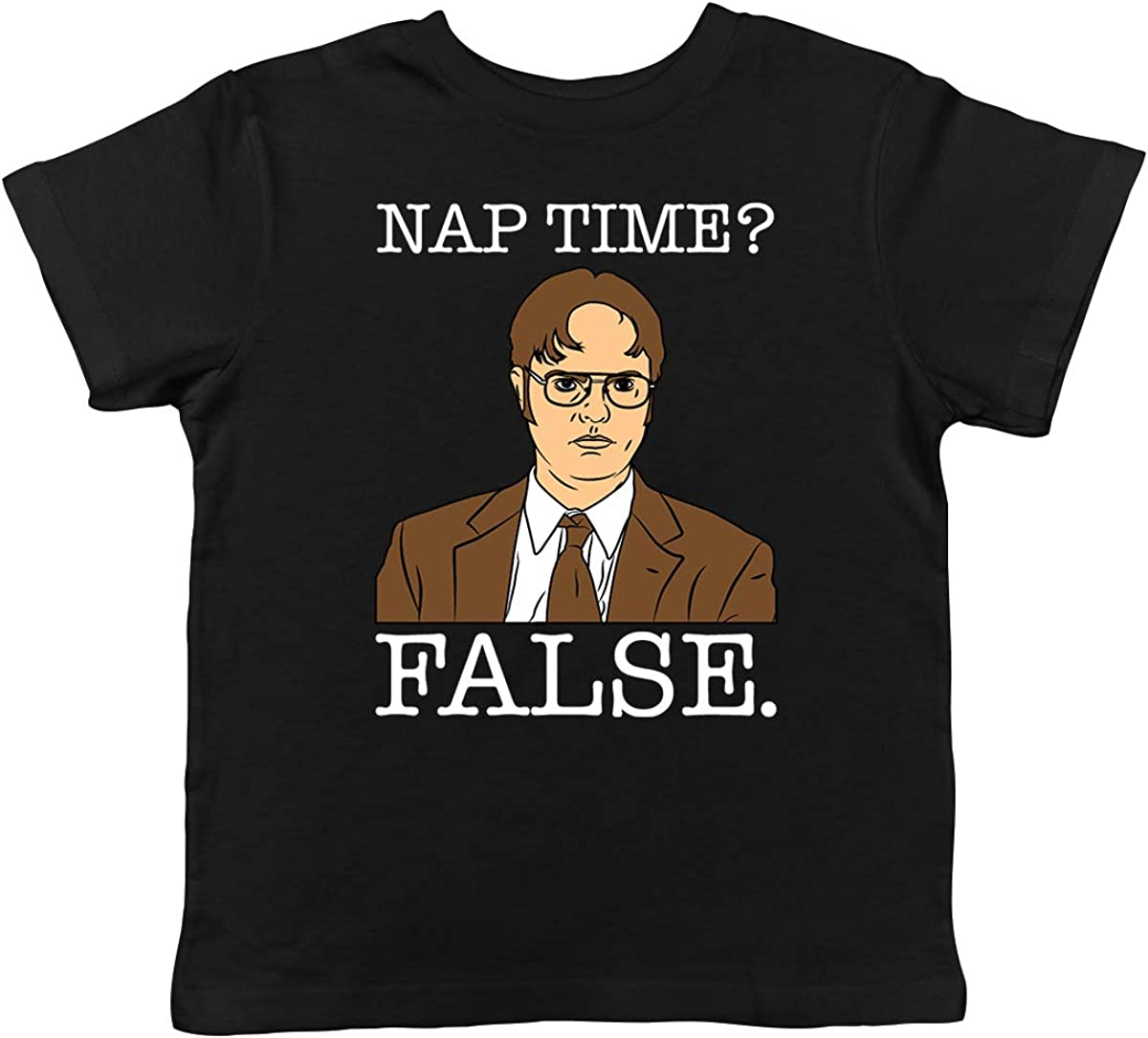 SpiritForged Apparel Nap Time? False - Dwight Toddler T-Shirt