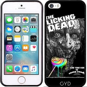 Casos para Apple Smartphones (iPhone gama) – la lamiendo DEAD por Adam sin ley, silicona, Silicone, Iphone SE: Amazon.es: Electrónica