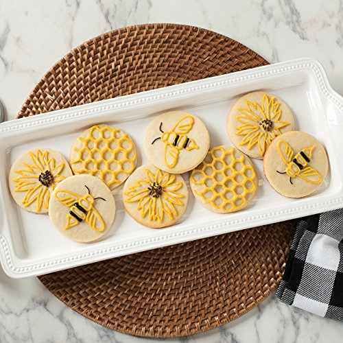 Nordic Ware Honeybee Cast Cookie Stamps, Metallic by Nordic Ware (Image #2)