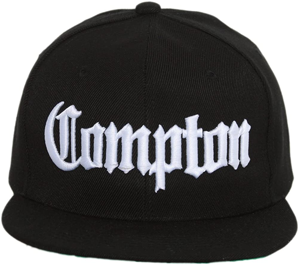 Compton Bundle Pack Includes snapback hat, black beanie, and black sunglass