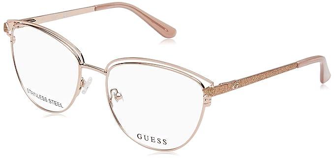 Guess Gu2685 028 53 Monturas de Gafas, Dorado (Oro Rosa ...