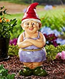14″ Naked Lady Garden Gnome Statue