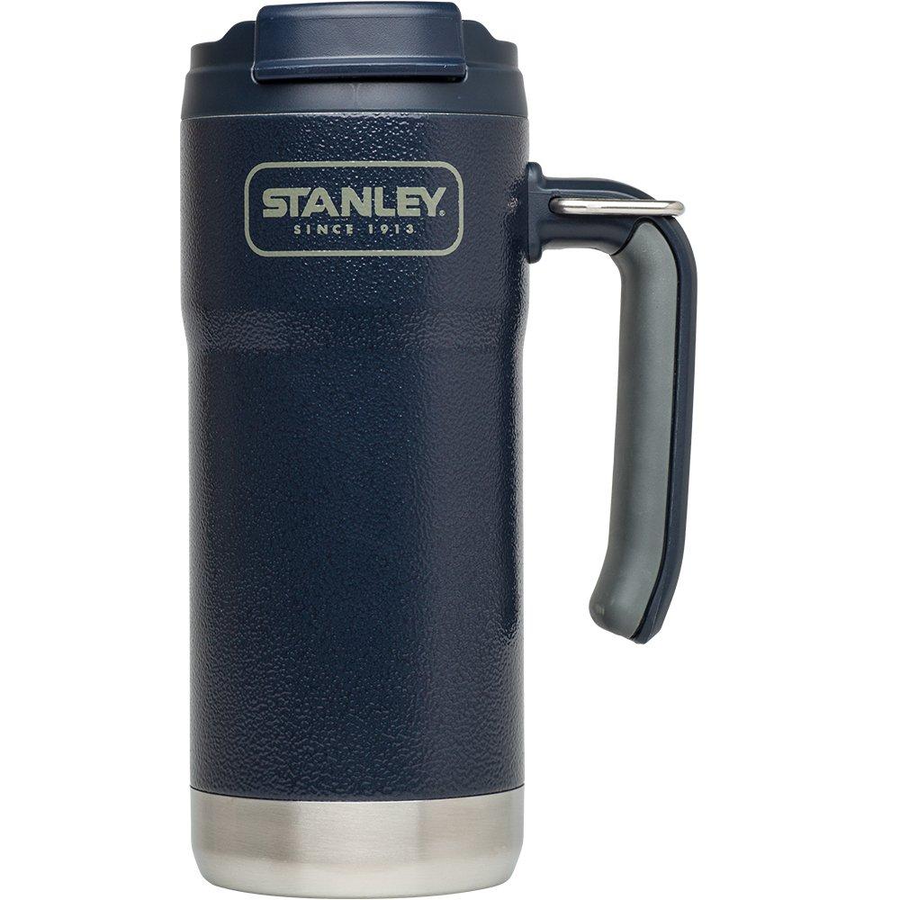 Stanley Adventure Vacuum Insulated Travel Mug, Hammertone Navy, 16 oz by Stanley