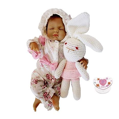 Amazon.es: F Fityle Modelo Muñeca Bebé Renacida de Silicona ...
