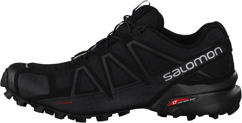 SALOMON L38310300, Scarpe da Trail Running Donna Nero