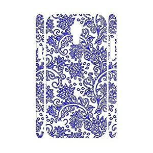 Advanced Blue and White Porcelain pattern Hard Print Skin Case Cover for Samsung Galaxy S4 Mini I9195 Case Kimberly Kurzendoerfer
