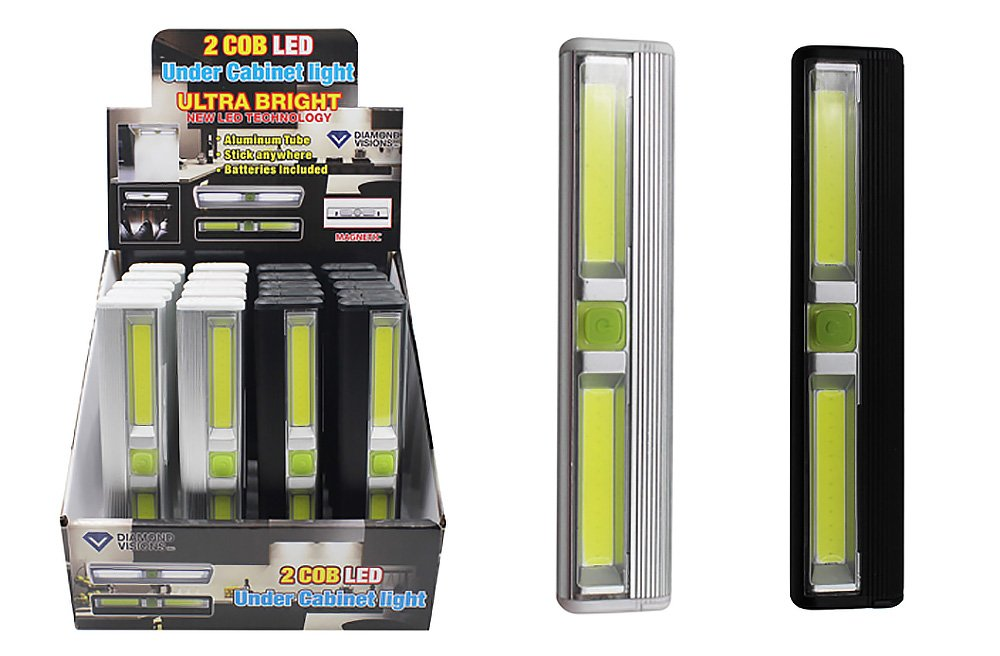 Diamond Visions 08-1944 COB LED Ultra Bright Under Counter Light in Assorted Finishes (1 Light Fixture) by Diamond Visions (Image #1)